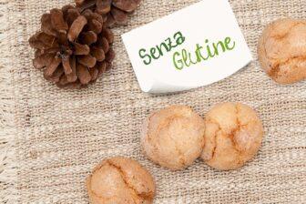 Amaretti Morbidi celiachia senza glutine gluten free