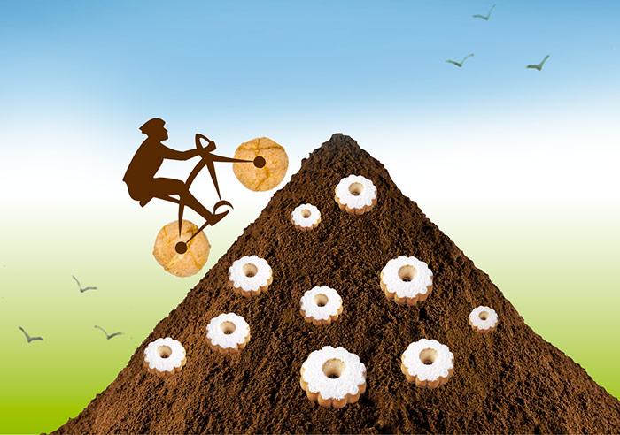 Bicicletta gita amaretti sassellese