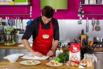 Mattia Poggi cucina ricette con amaretti morbidi sassello la sassellese