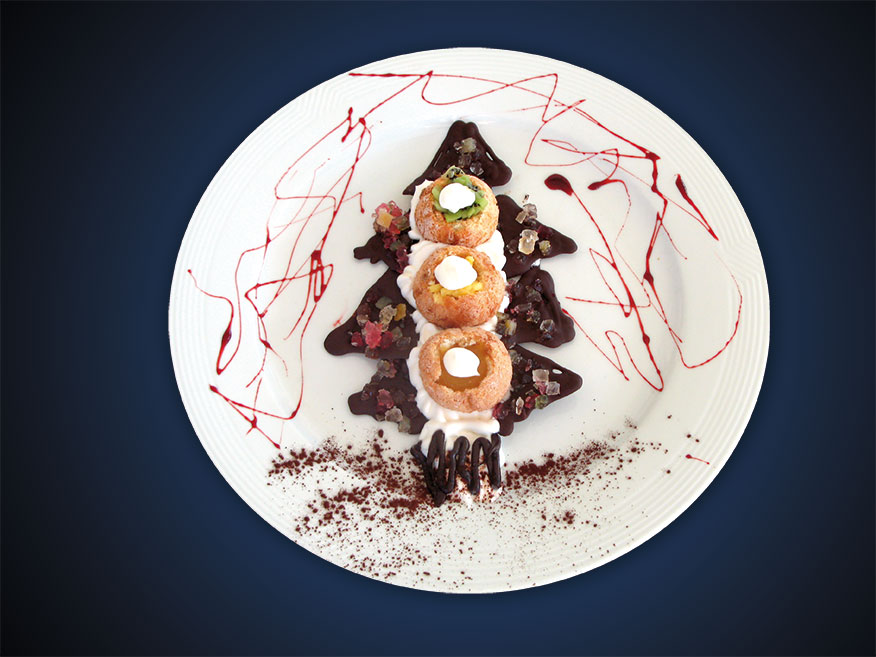 Ricetta Albero Natale Amaretti