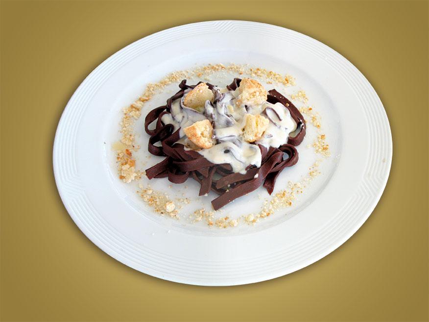 Ricetta Amaretti tagliatelle Cioccolato