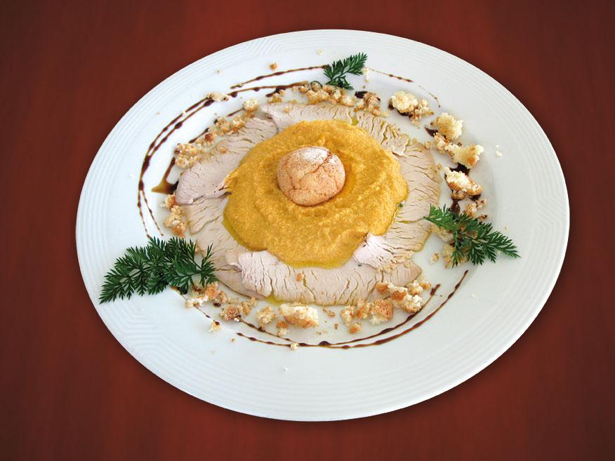 Ricetta Tacchinella Maionese amaretti