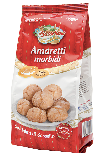 amaretti morbidi sassello packaging la sassellese