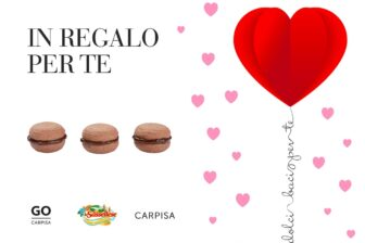 sassellese carpisa san-valentino tre baci regalo