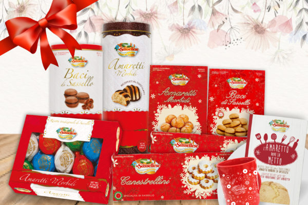 sassellese pacco regalo dolci feste auguri