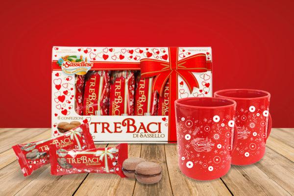 sassellese tre baci san valentino regalo